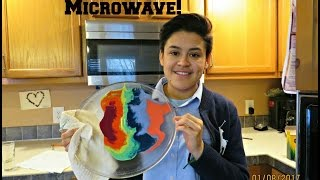 Melting Crayons In The Microwave!