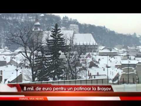 8 mil. de euro pentru un patinoar la Brasov