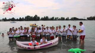preview picture of video 'Cold Water Challenge 2014 Jugendkapelle Friedberg'