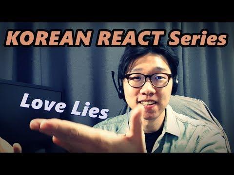KOREAN REACT ON Khalid & Normani   Love Lies