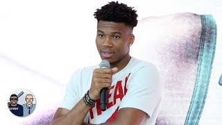 Giannis' MVP quote is 'when keeping it humble goes wrong' - Jalen Rose | Jalen & Jacoby