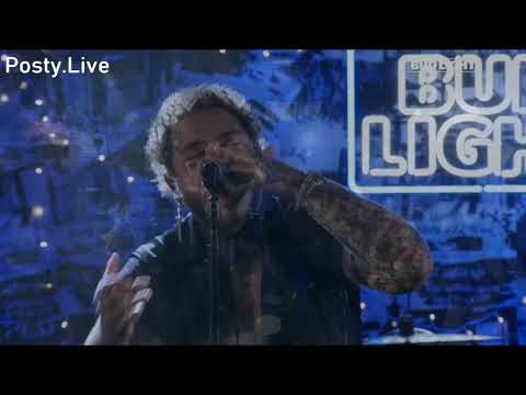 Post Malone - Over Now (Live Bug Light Tour)