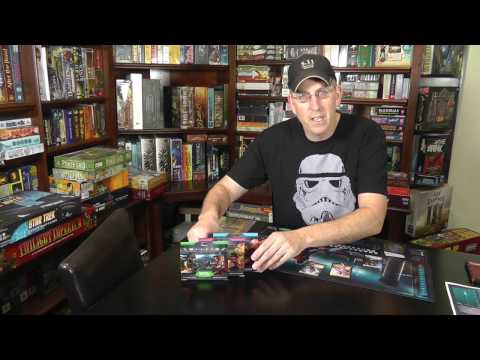 Bonding With Board Games Reviews 'Ophidian 2360' Non-Collectible Card Game with The Chief