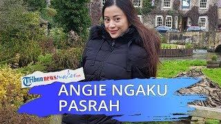 Angie Virgin Mengaku Pasrah, London sedang Lockdown