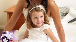 Getting your kids to walk down the aisle, at a wedding!