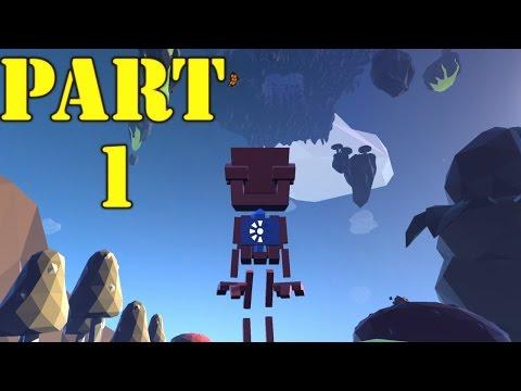 Grow Home Gameplay Walkthrough Part 1 - Bob the Bird (PC)