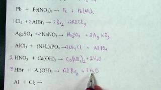 How To Predict And Balance Chemical Reactions