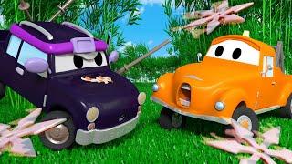Autogaráž pro děti - Z Malé Péti je Ninja - Tomova Autolakovna ve Městě Aut