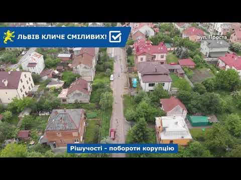 Над Левом: вул. Івана Багряного, Проста, Пташина