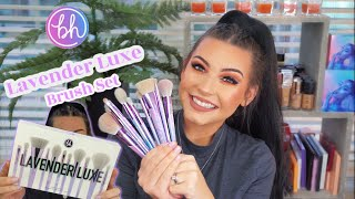 BH Cosmetics Lavender Luxe Brush Set Review