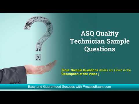 How to Get Highest Score in ASQ Certified Quality Technician (CQT ...