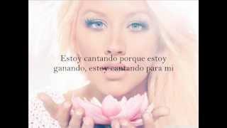 Christina Aguilera - Sing For Me (Sub. Español)