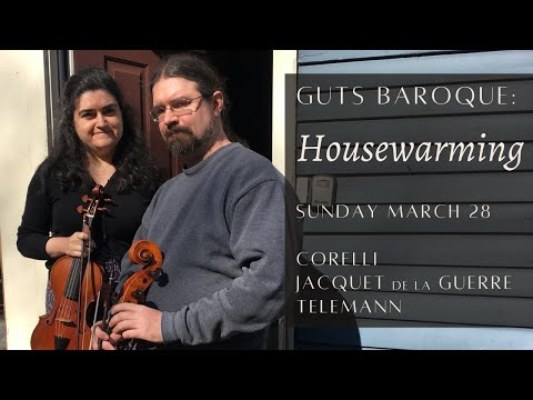 A recent livestream with Guts Baroque! We play baroque music on period instruments, savoring the warm sound and expressive bow shapes.