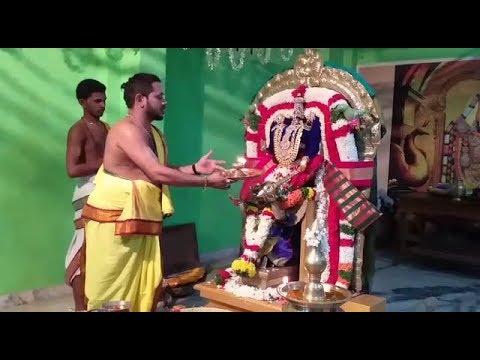 Then Tirupati Vattavilai Nagercoil, Kanyakumari Perumal Unjal Seva on 12-10-2019