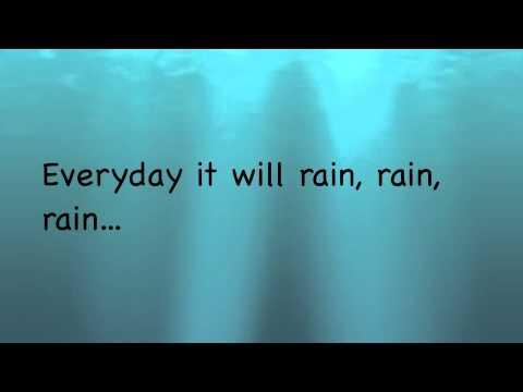 Bruno Mars - It Will Rain (Instrumental with on screen lyrics)