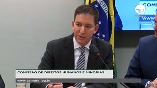 Glenn Greenwald do The Intercept Brasil na Comissão de Direitos Humanos e Minorias