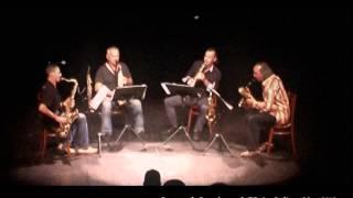 preview picture of video 'Quatuor de Saxophones de l'Océan Indien - Original Rag de Scott Joplin'