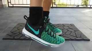 hot sales 76d7e 27a7d ... sweden frenkysneaks nike zoom kd9 birds of paradise on feet 5c825 4cbbb