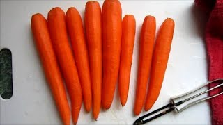 How To Make & Store Homemade Carrot Puree Baby Food!