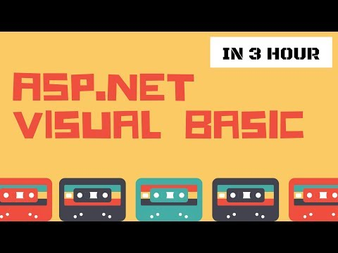 ASP NET Visual Basic for Web Development Full Course in 3 Hour