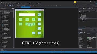 Calculator App Tutorial C#    Visual Studio