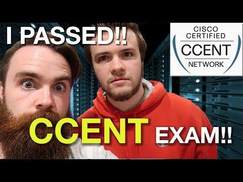 I PASSED THE CCENT EXAM!! - ICND1 Exam Tips - YouTube