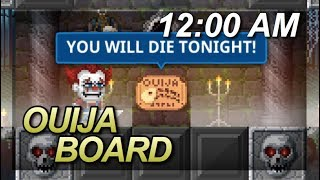 Pixel Worlds - PLAYING OUIJA AT MIDNIGHT! *VERY SCARY*