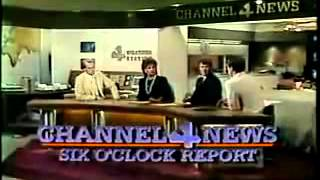 KDFW TV Dallas (Channel 4) 6pm News Open 1985