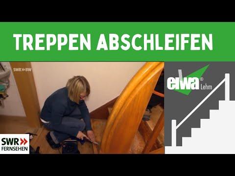 Treppe abschleifen & restaurieren -Der Blickfang-