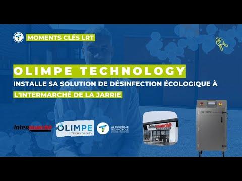 Découvrir la solution Olimpe Technology au magasin Intermarché de la Jarrie