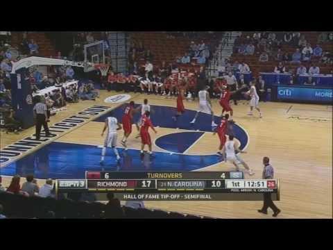 Video: UNC-Richmond Game Highlights