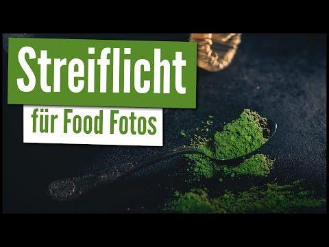 SO BENUTZT DU STREIFLICHT FÜR DRAMATISCHE FOOD FOTOS | Mini-Fotostudio aus Karton! | LICHTSETZUNG