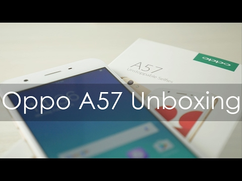 Oppo A57 Selfie Smartphone Unboxing & Overview