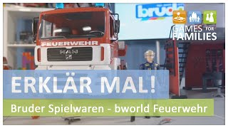 Das bworld Spielzeug aus der Themenwelt Feuerwehr von Bruder Spielwaren - Erklär mal!