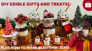 DIY Edible Gift Ideas | Home Made Hot Chocolate | Mason Jar Gifts