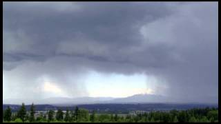 Thunder Storm Time-Lapse Snohomish, Washington 5/25/12