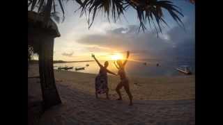 Solnedgang fra Lembongan Island