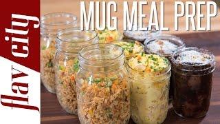 3 Tasty Microwave Mug Recipes  - Easiest Meal Prepping Ever