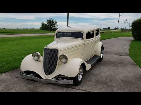 1934 Ford Tudor Willie Moore