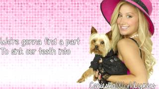 Ashley Tisdale (Sharpay Evans) - My Boi & Me (Full Version) (Lyrics Video) HD