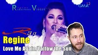 R3.0 Concert - 20 - Love Me Again/Follow The Sun - Regine | REACTION