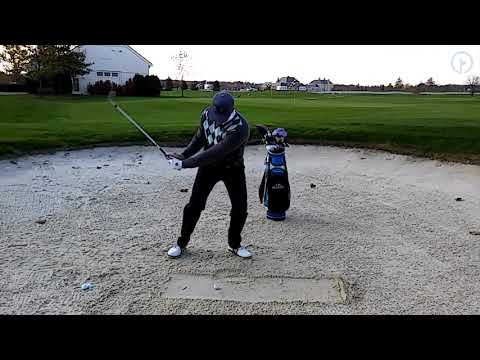 Play a Bunker Shot from Compacted Sand