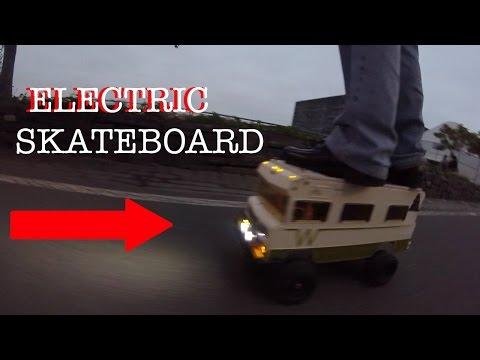 Boosted Electric Winnebago Skate Board