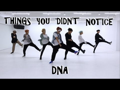 BTS THINGS YOU DIDN'T NOTICE IN DNA DANCE PRACTICE mp3