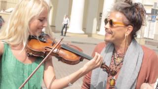 Vera Primavera and Aerosmith Steven Tyler CRAZY cover ( Official HD )