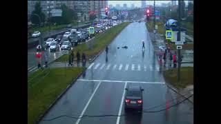 08.09.17. ДТП наезд на пешехода ул.Ленина. Ижевск