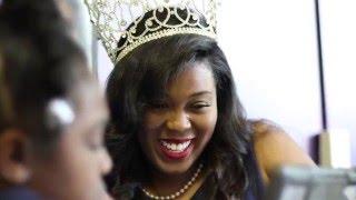 Ebony Magazine HBCU Campus Queens ~ Miss Livingstone College Ashley Williams