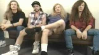 MEGADETH INTERVIEW IN 1992(92年訪談Chinese Subtitled中文字幕)