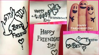 ❤Happy Friendship Day ❤ Friendship TATTOS Design||❣heena TATTO Design || Dollyarts❣||