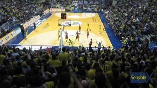 Kostas'ın sayısıyla maçın ilk basketinden beri ilk defa öne geçilen an